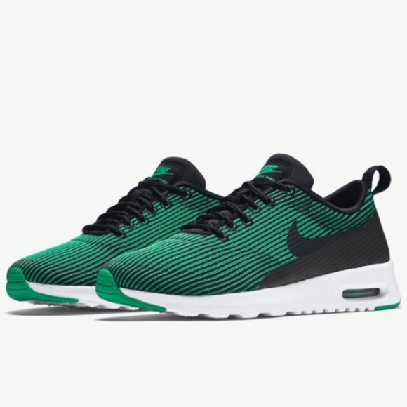 Nike Air Max Thea women s green black white shoes d30597dc7f31